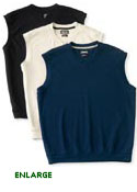 Ashworth Ez-Tech Solid Interlock Vest - AM5650